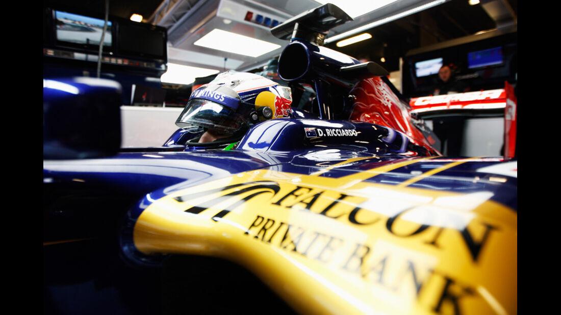 Daniel Ricciardo - F1-Test - Barcelona 2012