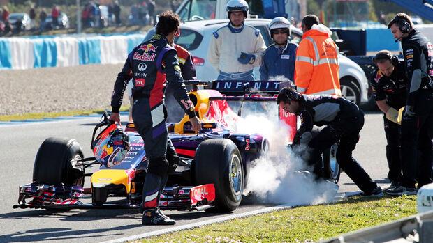 Daniel Ricciardo - F1-Test Jerez 2014