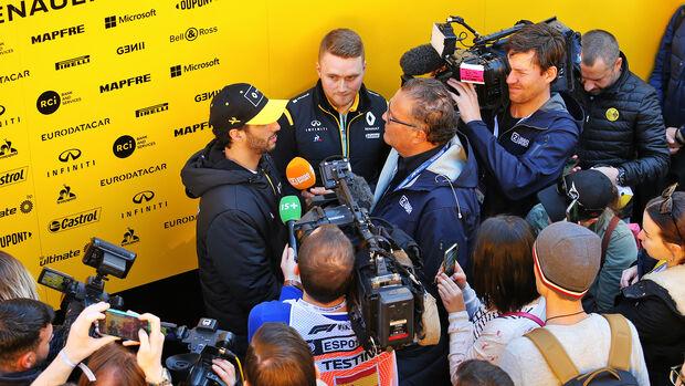 Daniel Ricciardo - F1-Testfahrten - Barcelona - 2020