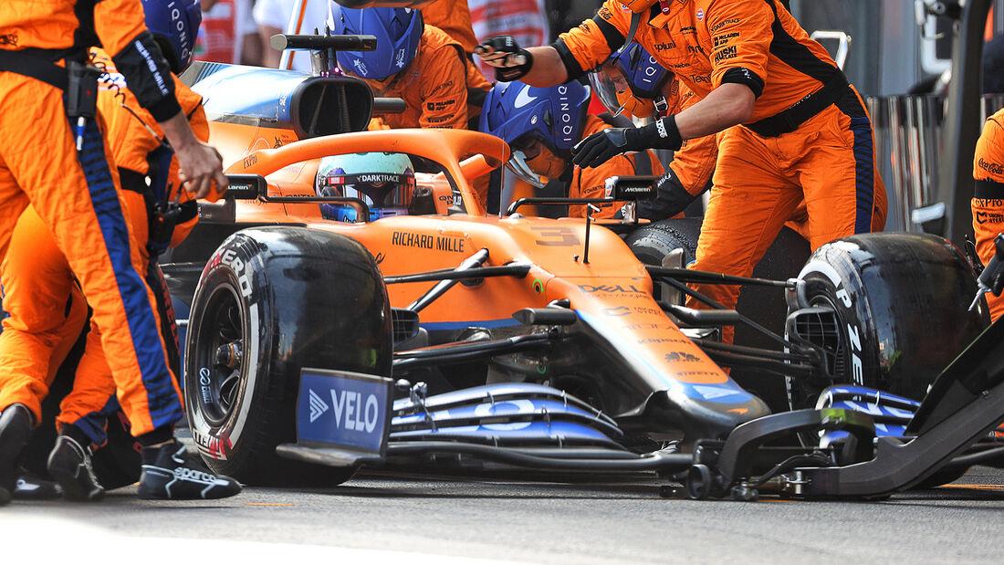 Daniel Ricciardo - Formel 1 - GP Aserbaidschan 2021
