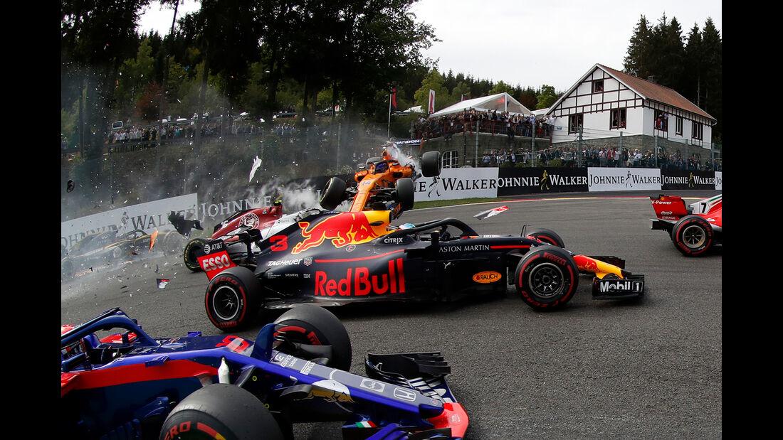 Daniel Ricciardo - Formel 1 - GP Belgien 2018