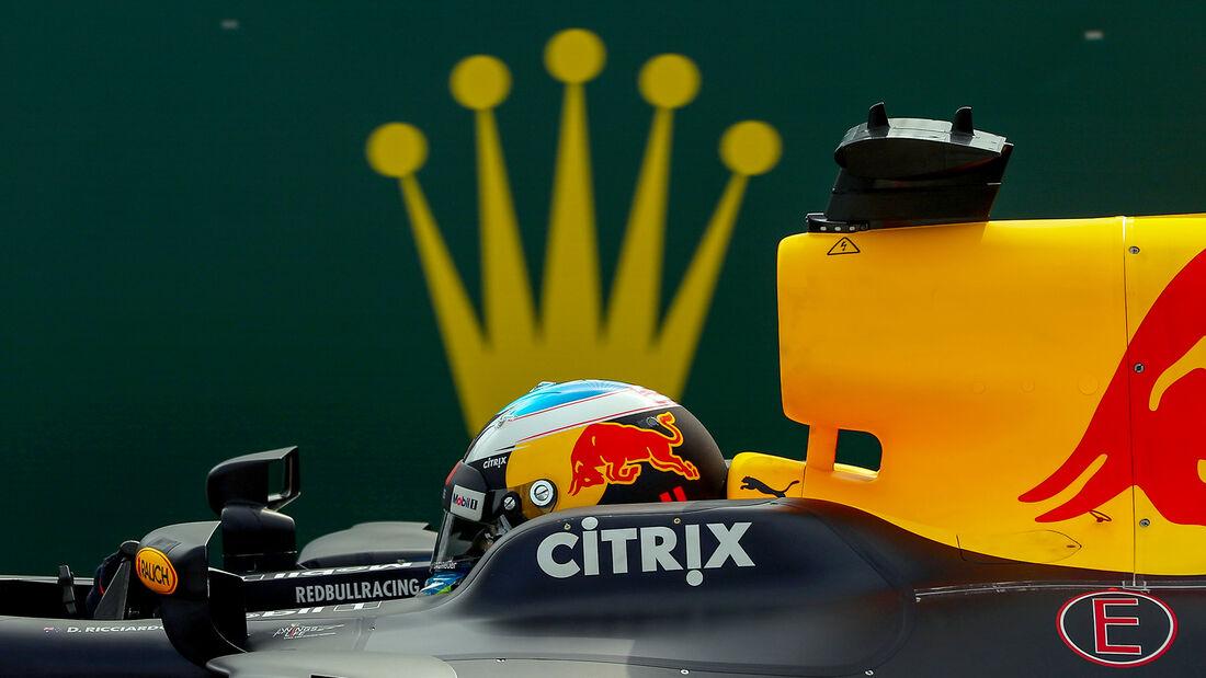 Daniel Ricciardo - Formel 1 - GP Belgien - Spa-Francorchamps - 26. August 2017