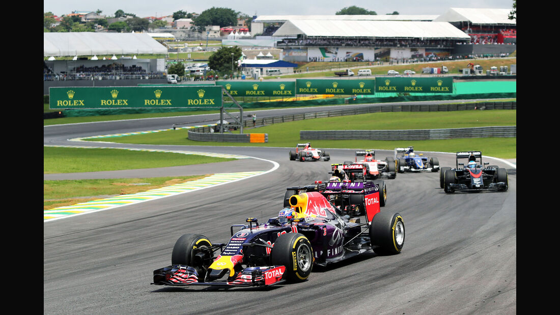 Daniel Ricciardo - Formel 1 - GP Brasilien- 15. November 2015