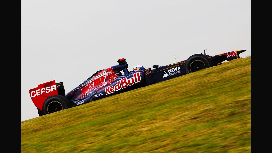 Daniel Ricciardo Formel 1 GP Brasilien 2012