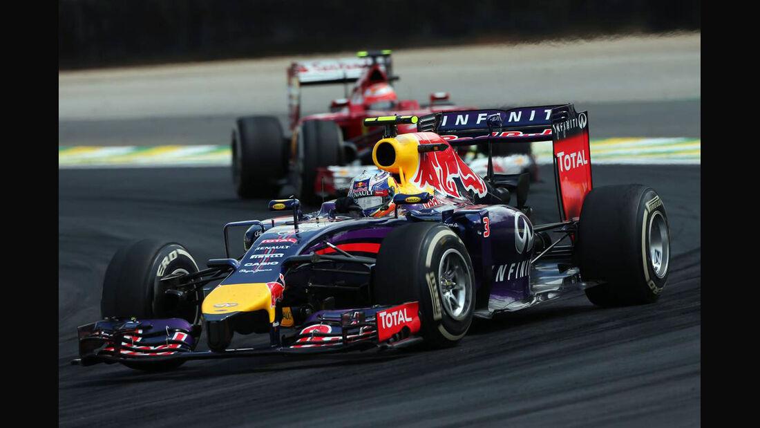 Daniel Ricciardo - Formel 1 - GP Brasilien - 9. November 2014