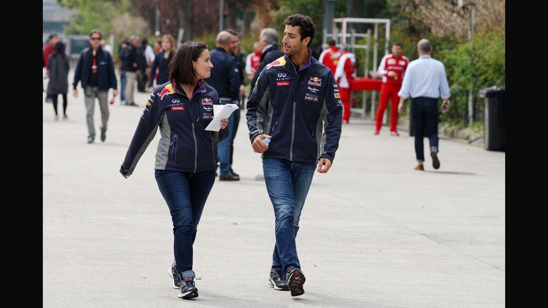 Daniel Ricciardo - Formel 1 - GP China - Shanghai - 9. April 2015