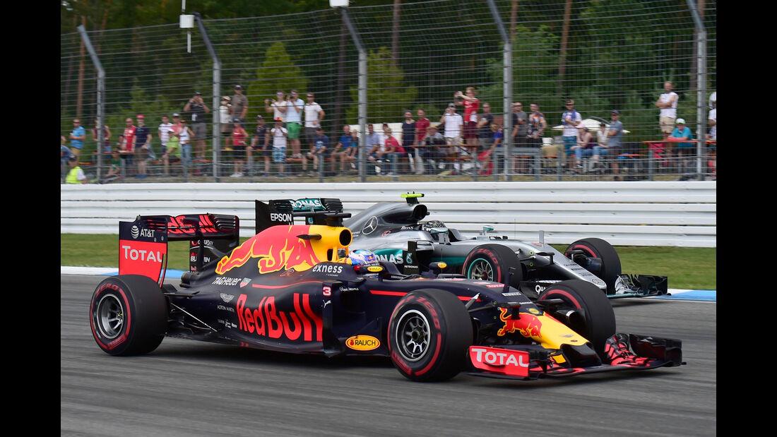 Daniel Ricciardo - Formel 1 - GP Deutschland 2016