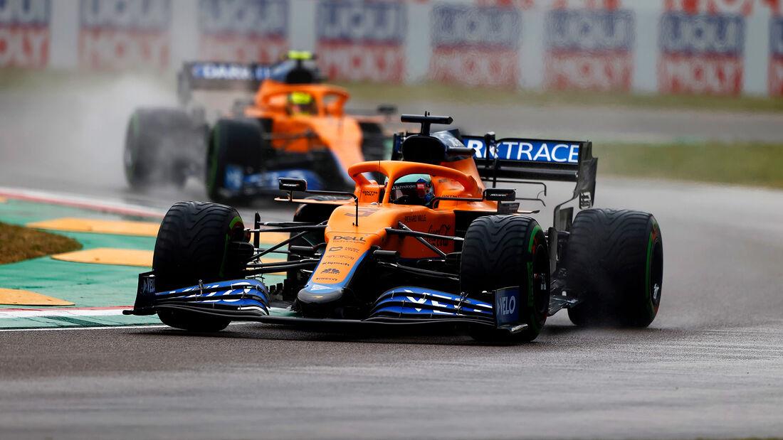 Daniel Ricciardo - Formel 1 - GP Emilia Romagna - Imola 2021
