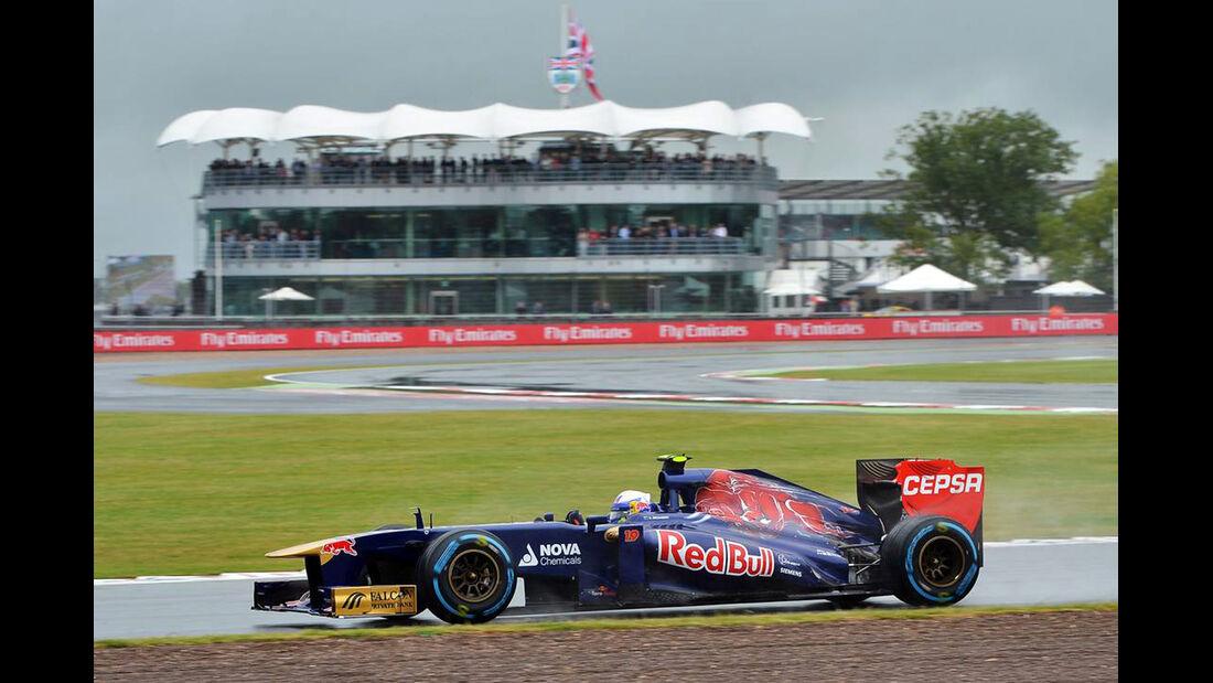 Daniel Ricciardo - Formel 1 - GP England - 28. Juni 2013