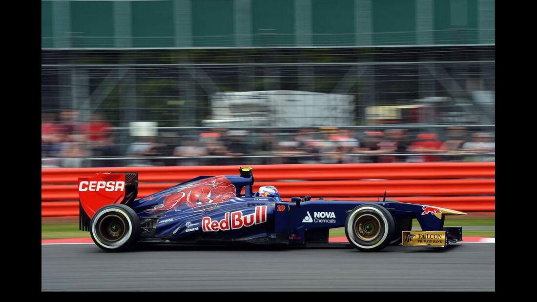 Daniel Ricciardo - Formel 1 - GP England - 29. Juni 2013