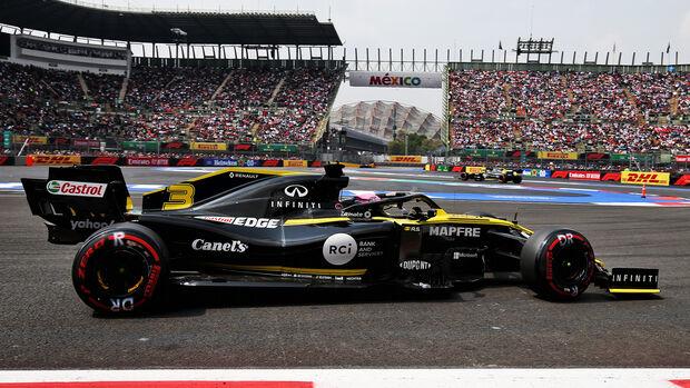 Daniel Ricciardo - Formel 1 - GP Mexico 2019