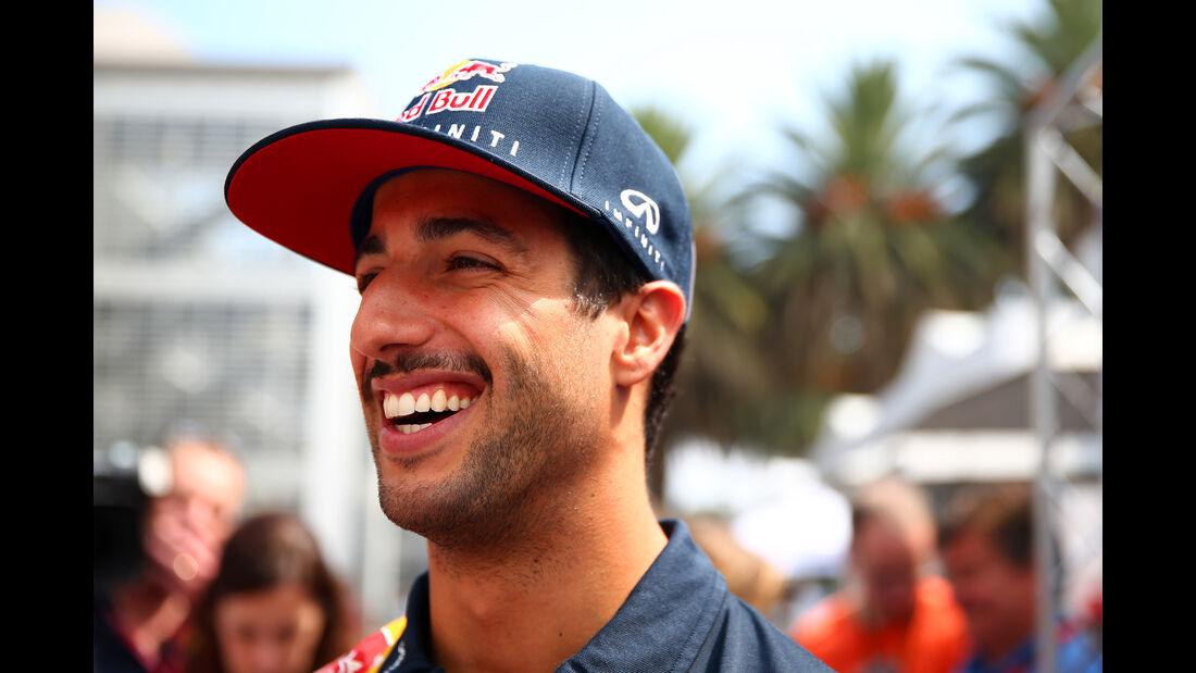 Daniel Ricciardo - Formel 1 - GP Mexico - 29. Oktober 2015