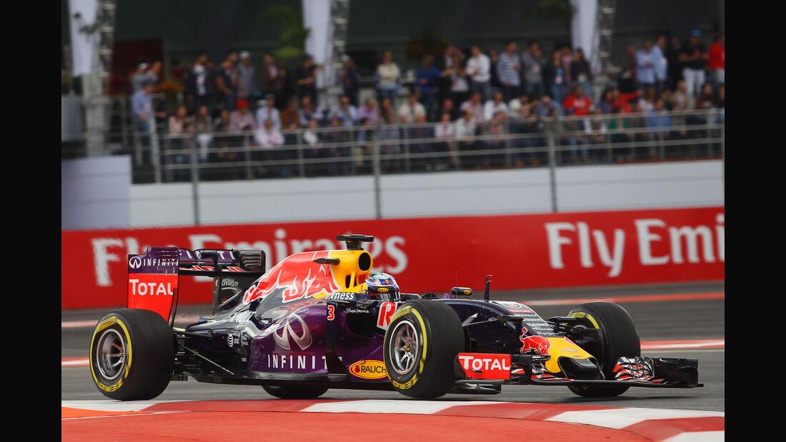 Daniel Ricciardo - Formel 1 - GP Mexiko - 31. Oktober 2015