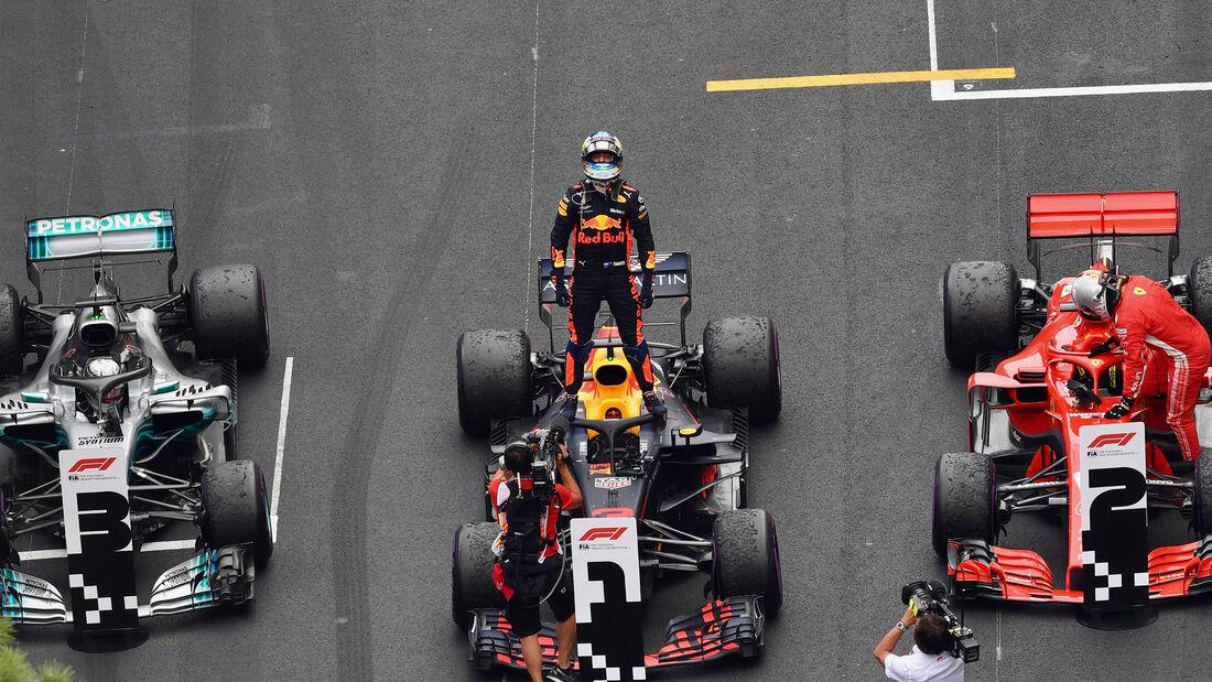 Daniel Ricciardo - Formel 1 - GP Monaco 2018