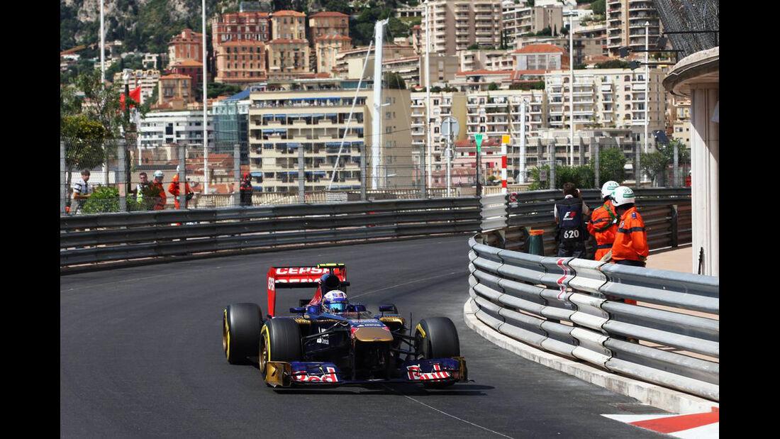 Daniel Ricciardo - Formel 1 - GP Monaco - 25. Mai 2013
