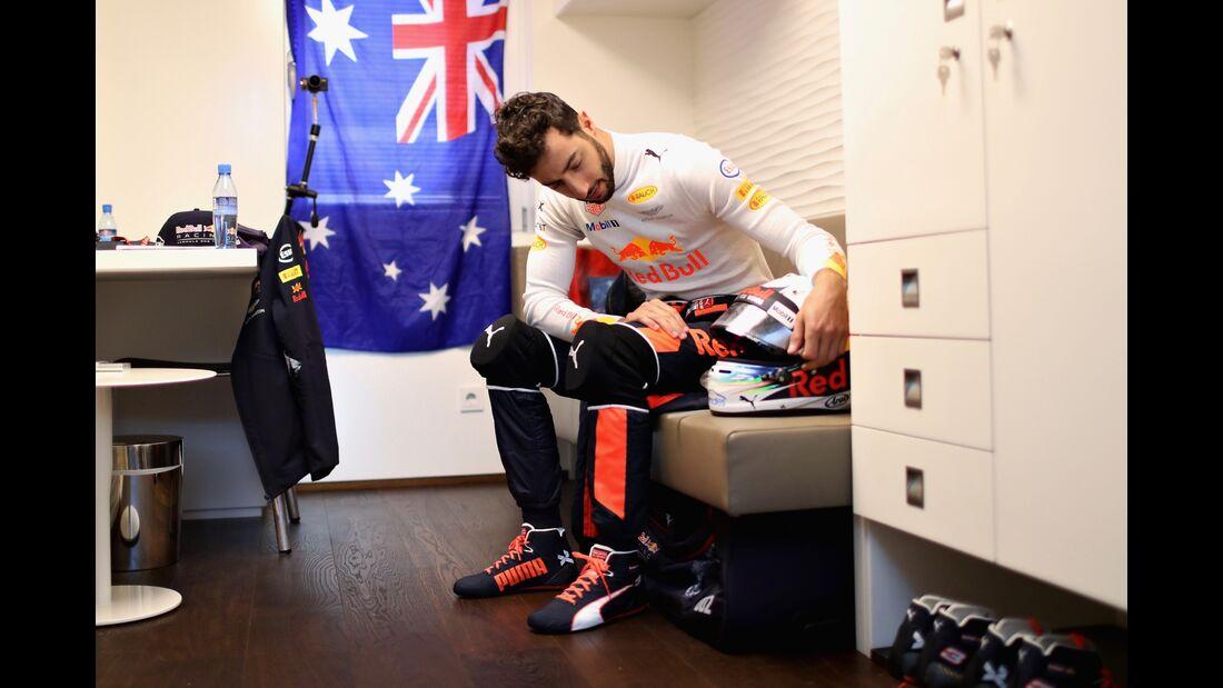Daniel Ricciardo - Formel 1 - GP Spanien - 13. Mai 2017