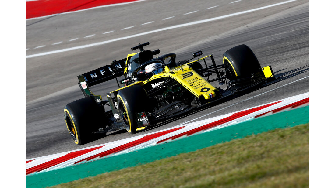 Daniel Ricciardo  - Formel 1 - GP USA 2019