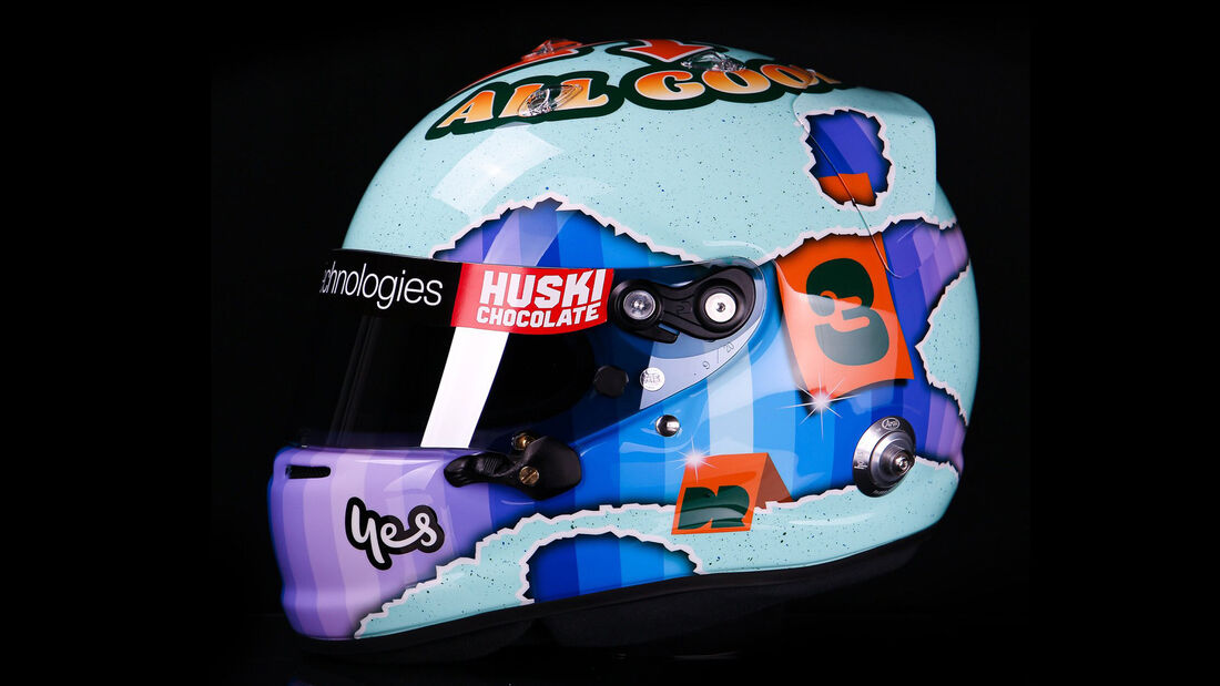Daniel Ricciardo - Formel 1 - Helm - 2021