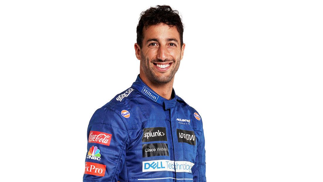 Daniel Ricciardo - Formel 1 - Porträt - 2021