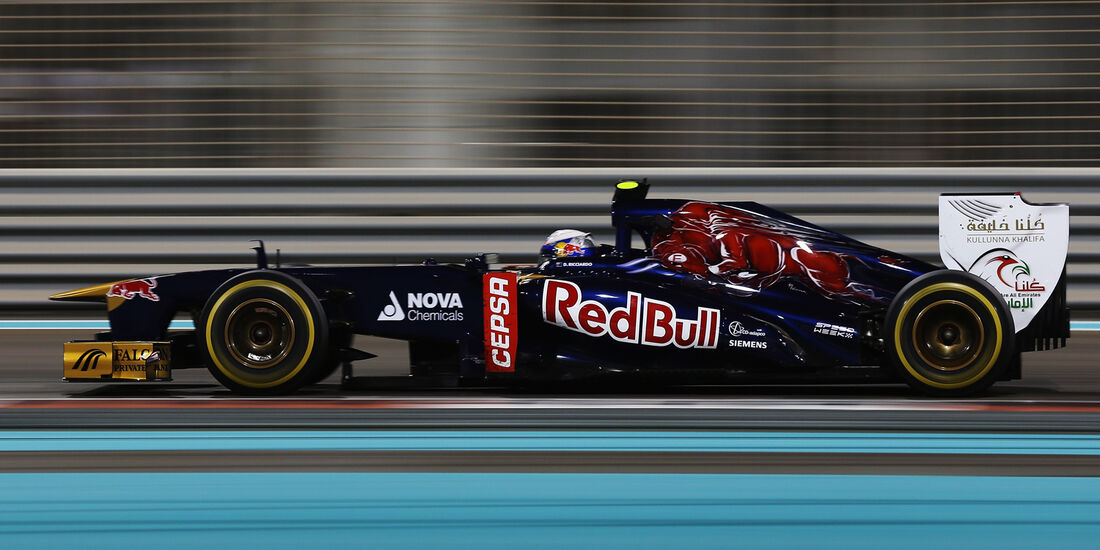 Daniel Ricciardo - GP Abu Dhabi 2013