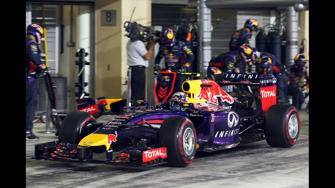 Daniel Ricciardo - GP Abu Dhabi 2014