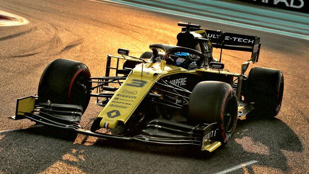 Daniel Ricciardo - GP Abu Dhabi 2019