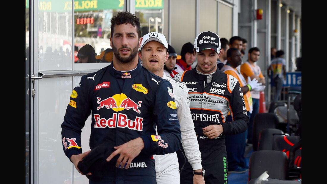 Daniel Ricciardo - GP Aserbaidschan - Formel 1 - 2016