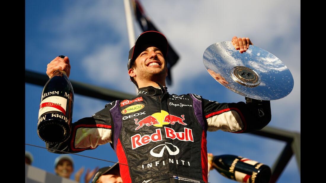 Daniel Ricciardo - GP Australien 2014 - Formel 1 - Tops & Flops