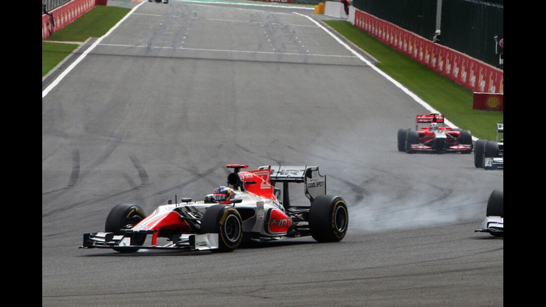 Daniel Ricciardo GP Belgien 2011