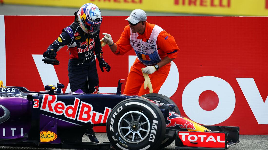 Daniel Ricciardo - GP Belgien 2015