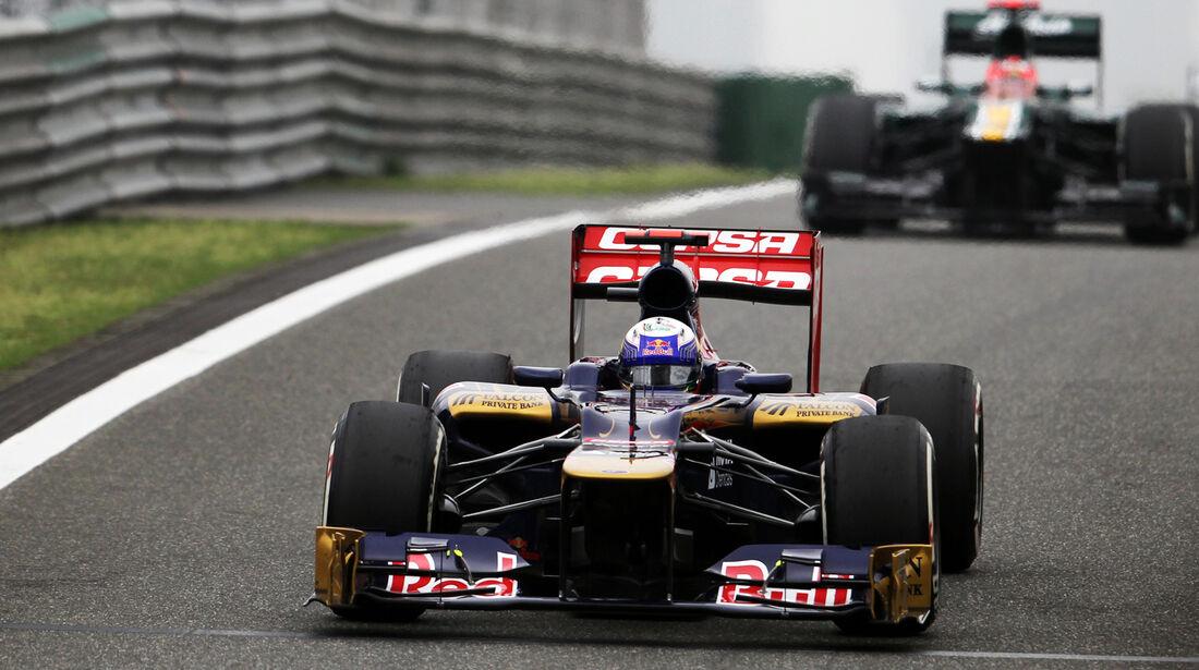 Daniel Ricciardo GP China 2012