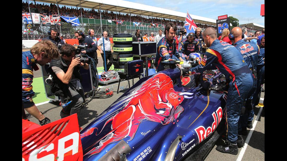 Daniel Ricciardo - GP England 2013