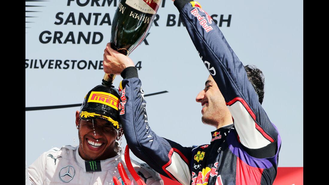 Daniel Ricciardo - GP England 2014