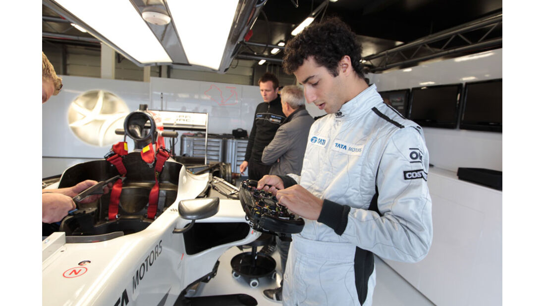 Daniel Ricciardo - GP England - Silverstone - Do. 7. Juli 2011