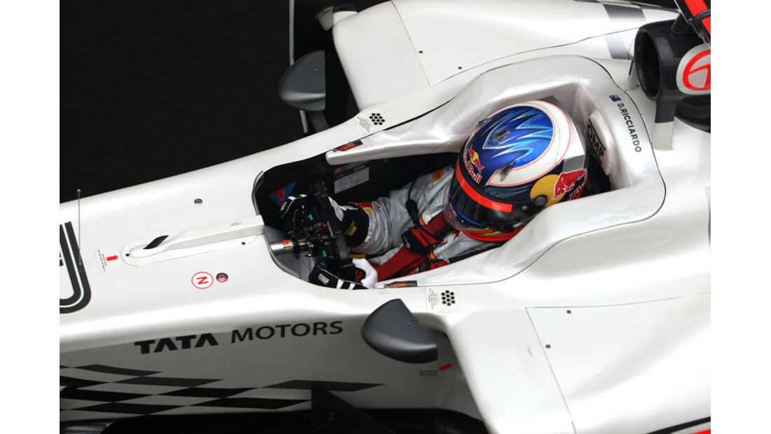 Daniel Ricciardo - GP England - Training - Silverstone - 8. Juli 2011