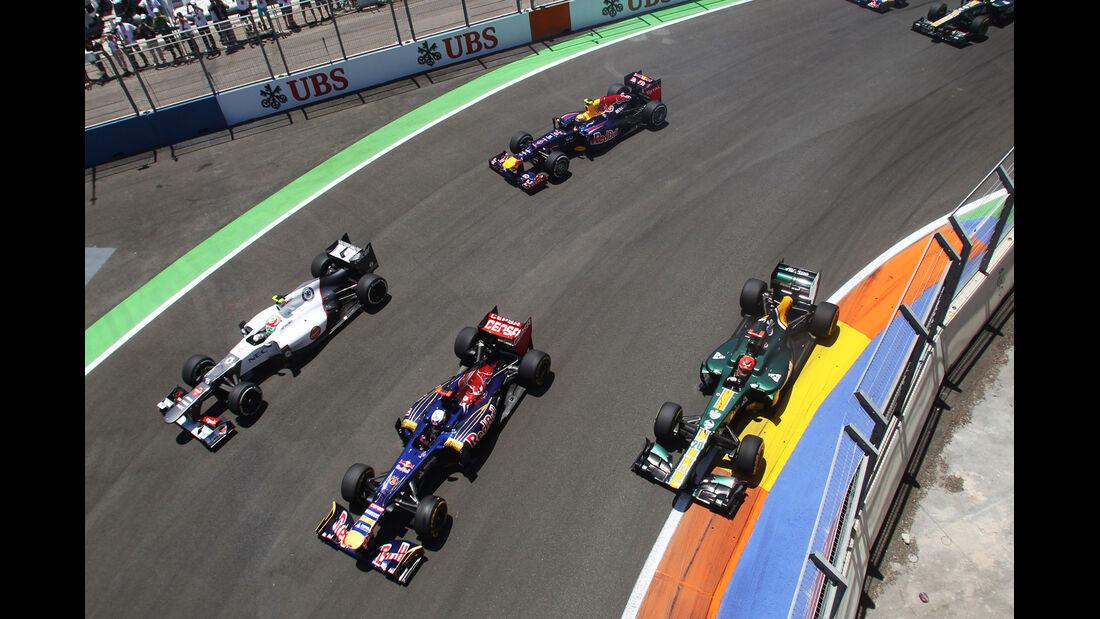 Daniel Ricciardo GP Europa 2012