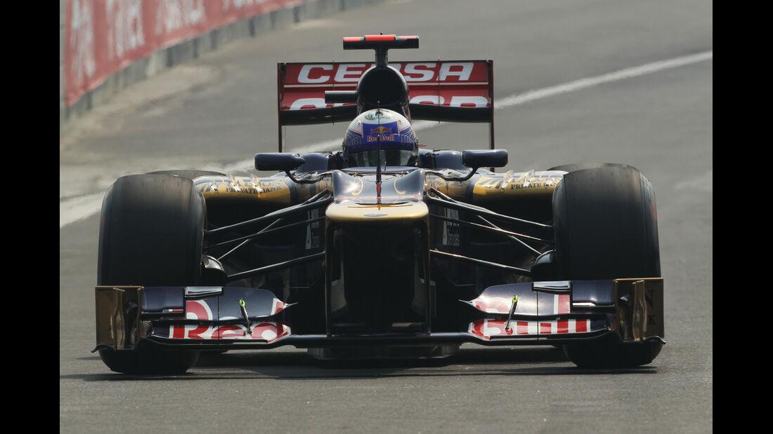 Daniel Ricciardo GP Indien 2012