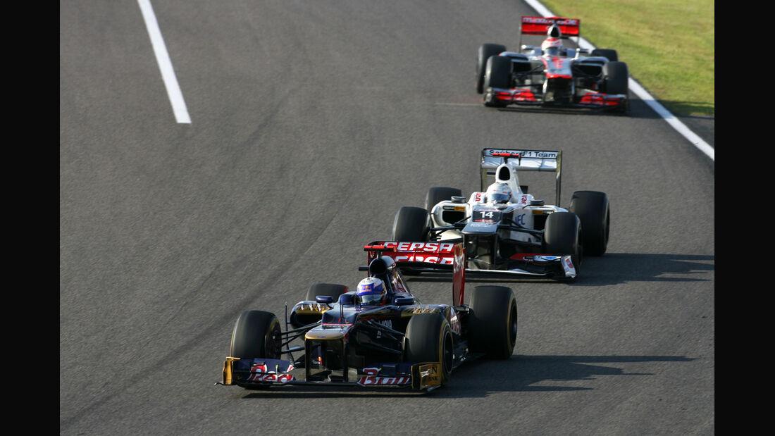 Daniel Ricciardo GP Japan 2012