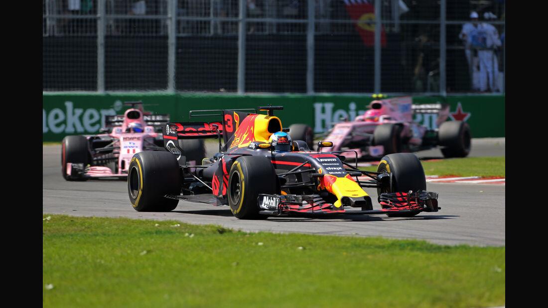 Daniel Ricciardo - GP Kanada 2017