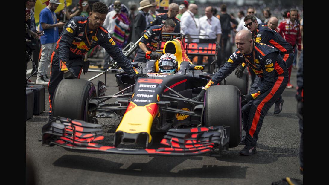 Daniel Ricciardo - GP Mexiko 2017