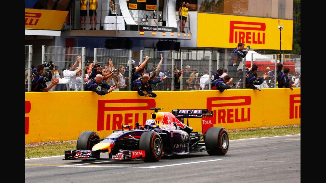 Daniel Ricciardo - GP Spanien 2014