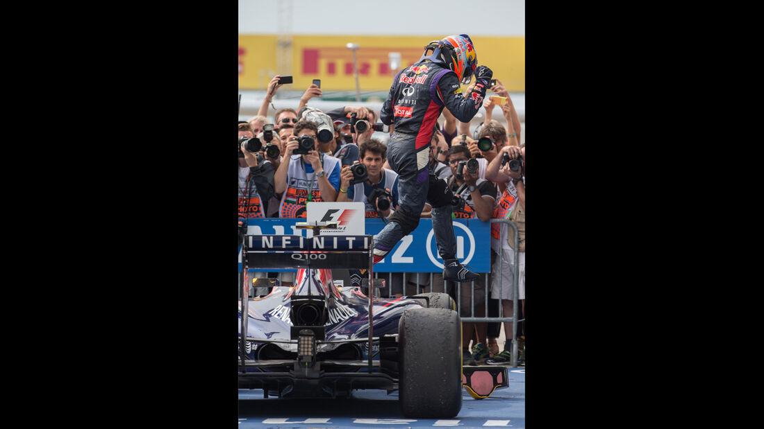 Daniel Ricciardo - GP Ungarn 2014 - Danis Bilderkiste