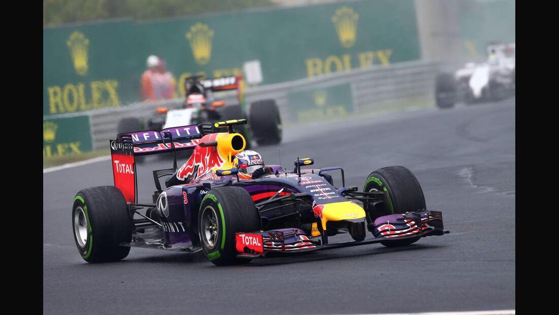 Daniel Ricciardo GP Ungarn 2014 Red Bull