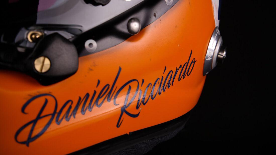 Daniel Ricciardo - Helm-Design - GP Monaco 2021