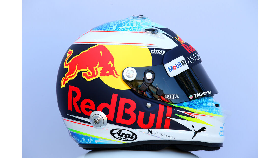 Daniel Ricciardo - Helm - Formel 1 - 2018