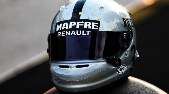 Daniel Ricciardo - Helm - GP China 2019