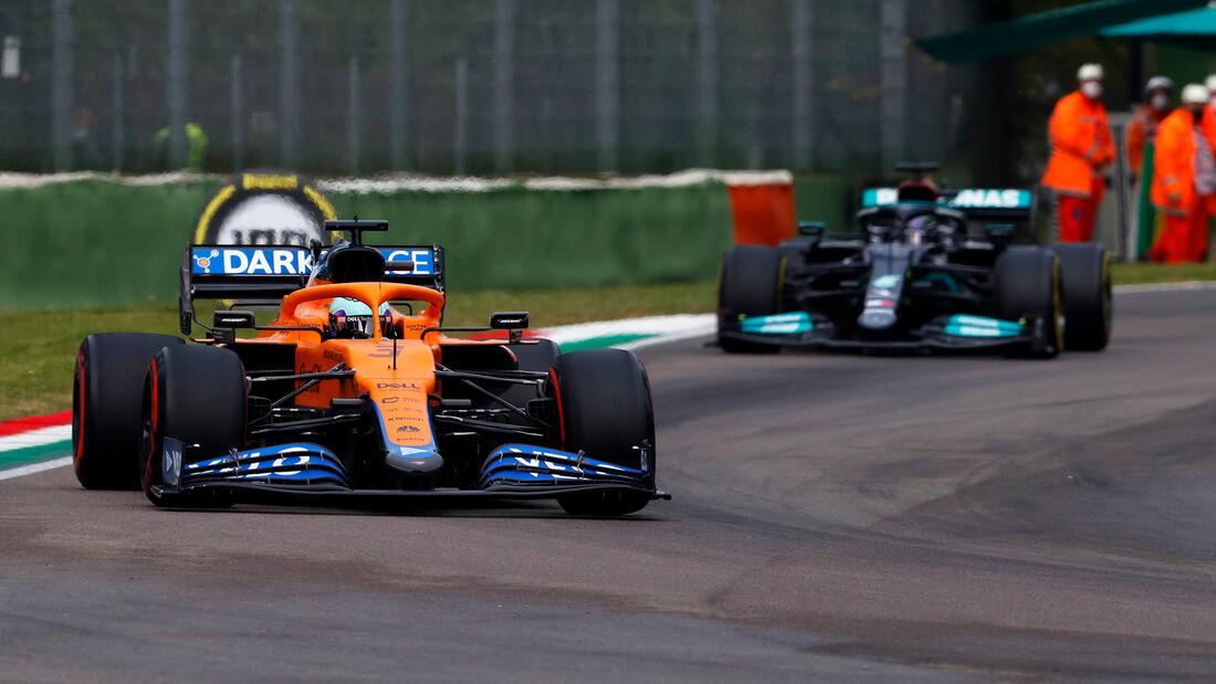 Daniel Ricciardo - Imola - Formel 1 - GP Emilia Romagna - 2021