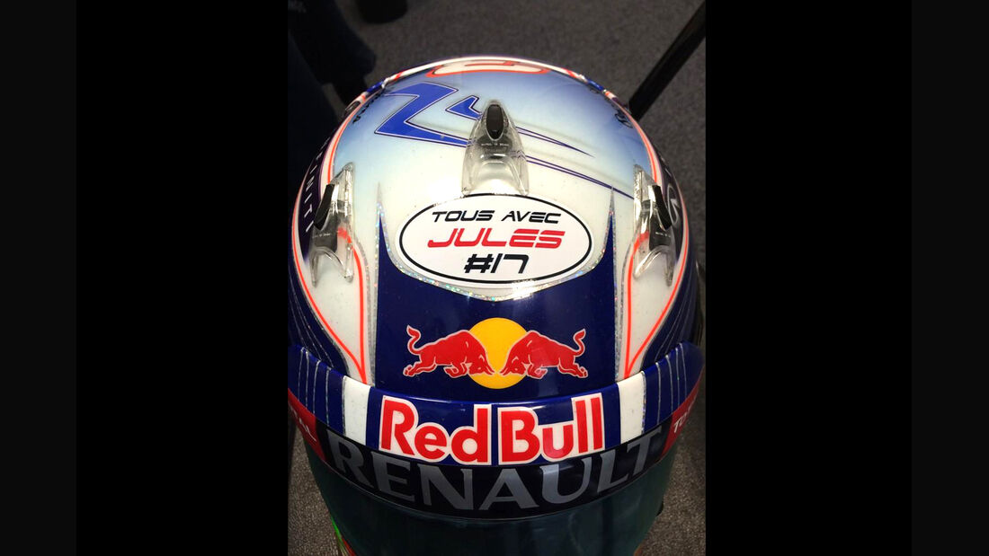 Daniel Ricciardo - Jules Bianchi-Tribute - GP Russland 2014