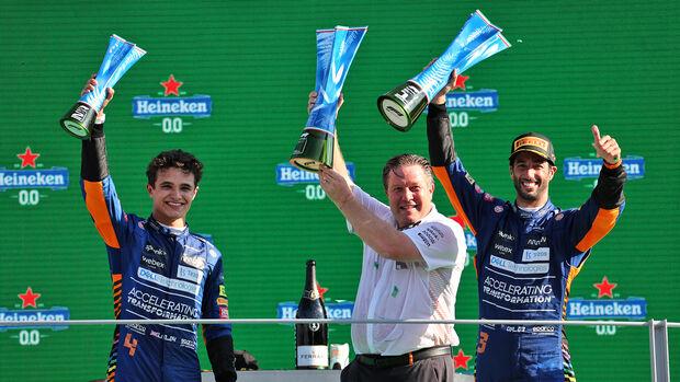Daniel Ricciardo & Lando Norris - GP Italien 2021