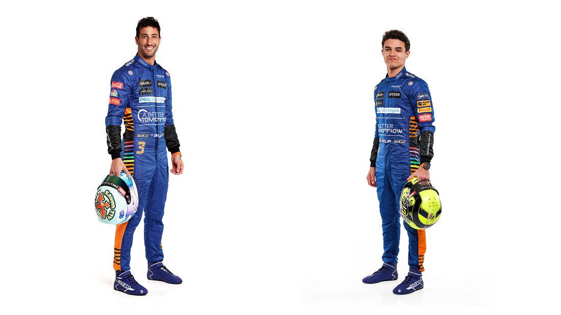 Daniel Ricciardo & Lando Norris - McLaren - F1 - 2021